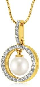 Rockrush Classic Pearl Pendant 18kt Pearl Yellow Gold Pendant