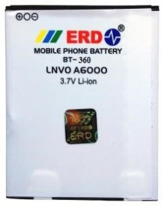 ERD Mobile Battery For Lenovo A6000, Micromax Yu Yuphoria A5010