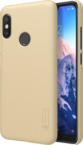 Nillkin Back Cover for Xiaomi Redmi 6 Pro Frosted Hard Dotted Back