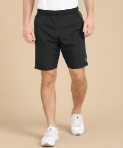 REEBOK Solid Men Black Sports Shorts