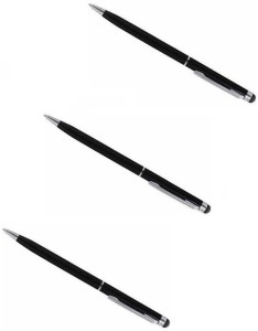 Freya SET OF 3 Capacitive Pen For Touch Screen Mobile Phones And Tablets All Pads Stylus