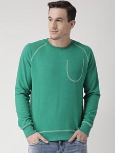 Club York Full Sleeve Solid Men's Reversible Sweatshirt
