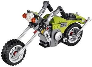 Sanyal 129 pcs 3 in 1 Architect Highway Cruiser Bike Block Construction Set Toy(Multicolored)