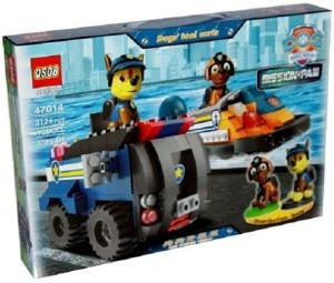Montez 47014 312pcs Block Construction Toy With 2 mini Doll