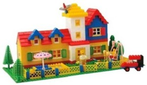 Bluwings 610Pcs Architecture Blocks set Game For Children's Creativity(Min. Age 6 Yrs)