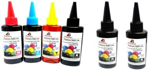 Odyssey Universal Premium Quality ink for use in Inkjet Printers Multi Color Ink Bottle