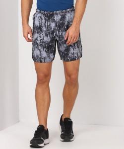 REEBOK Self Design Men Multicolor Sports Shorts
