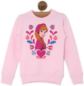 Miss & Chief Full Sleeve Printed Girls Sweatshirt