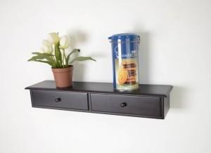 OnlineCraft wooden wall shelf Wooden Wall Shelf