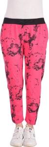 Diaz Printed Women Pink Track Pants
