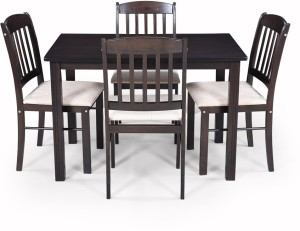 RoyalOak divine Solid Wood 4 Seater Dining Set