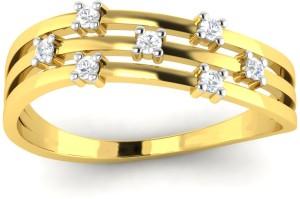 Avsar Nilima 14kt Cubic Zirconia Yellow Gold ring