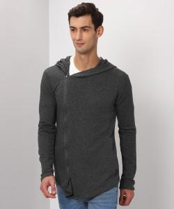 Flying Machine Full Sleeve Solid Men Sweatshirt