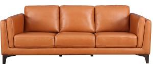 HomeTown Half-leather 3 Seater  Sofa