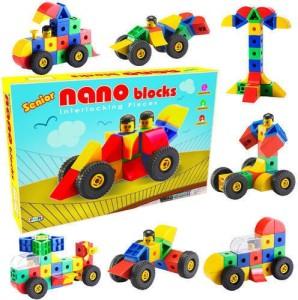 Nabhya Nano Senior Learning Educational Construction Building Interlocking Blocks Toy For Kids Age 2 To 6