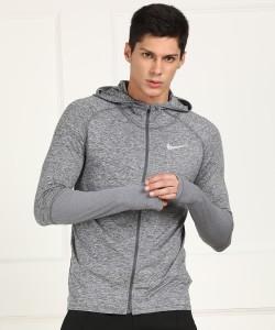 Nike Full Sleeve Self Design Men Sweatshirt