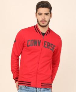 Converse Full Sleeve Applique Men's Sweatshirt