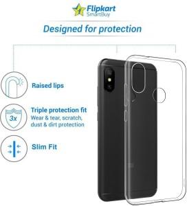 3721c20f463 Flipkart SmartBuy Back Cover for Mi Redmi Note 6 Pro Transparent ...