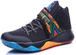 cheap for discount 07685 11aa8 Air Sports Kyrie 2 BHM bynike Basketball Shoes For MenBlack