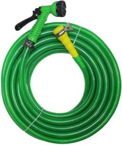 MAQ 10MTR PREMIUM BRAIDED HOSE GREEN 1/2
