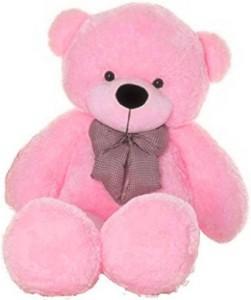 GIFTERIA Stuffed Spongy Soft Cute 3 feet PINK Teddy bear  - 89 cm