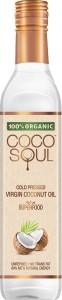 Coco Soul Cold Pressed Organic Virgin Coconut Oil Plastic Bottle