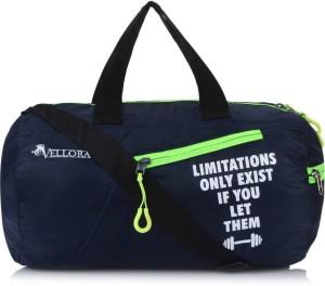 Vellora Sports Round Gym Bag Gym Fitness