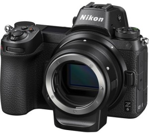 Nikon Z 6 Mirrorless Camera Body with Mount Adapter FTZ