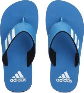 22fdf32229b9 ADIDAS Boys Velcro Slipper Flip Flop Blue Best Price in India ...
