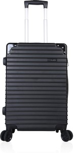 Police Knob Expandable  Cabin Luggage - 20 inch