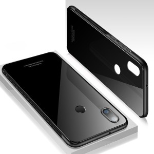 Winkel Back Cover for Vivo Y95Black, Polycarbonate