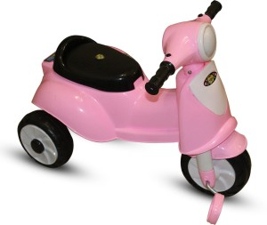 Akshat VEZPA PINK SCOOTER TRICYCLE SF4/7F-5 Tricycle