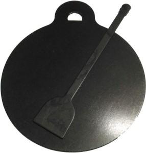 Jayam IRON DOSA TAWA / DOSA KALLU 1KG WITH DOSA TURNER Tawa 26 cm diameter
