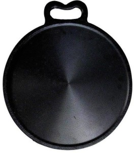 NatureLoC Iron Tawa 13 IN-Cast Iron Thava 13IN Dosa Kallu Dosa Pan Tawa 13 cm diameter