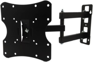 WALTEK 24 to 42 Inches LCD, LED & Plasma Movable & Double Arm TV Wall Mount Stand For All Available Brands Suitable Full Motion TV Mount Full Motion TV Mount