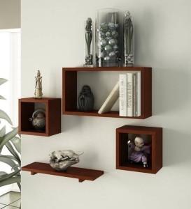 OnlineCraft wooden wall stand Wooden Wall Shelf