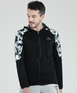 Alcis Full Sleeve Printed Men Jacket