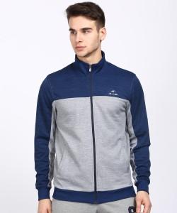 Alcis Full Sleeve Colorblock, Self Design Men Jacket