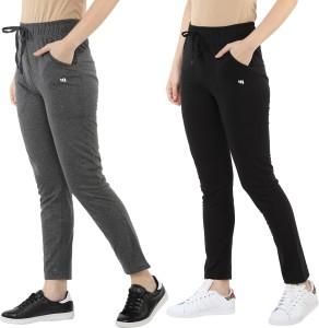 MODEVE Solid Women Grey, Black Track Pants