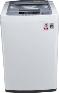 LG 6.2 kg Fully Automatic Top Load Washing Machine White, Silver T7269NDDL