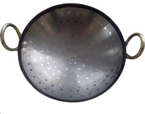 NPCPL Iron Kadhai 10 Inches Dia Loha Lokhand Kadhai 25 cm