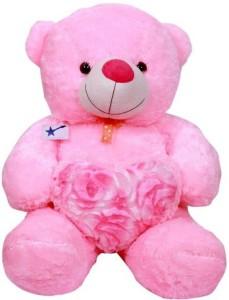 gifteria tuff Bear W/Heart 60CM  - 60 cm
