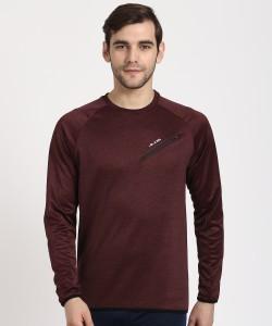 Alcis Full Sleeve Self Design Men's Sweatshirt
