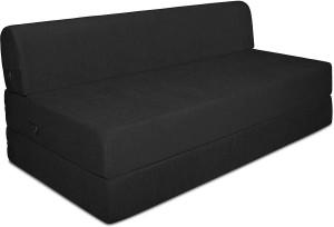 Style Crome Sofa Cum Bed 5x6 Feet Three Seater Single Sofa Bed