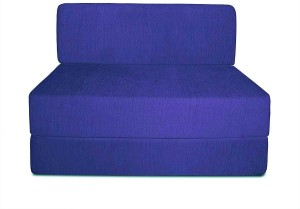 Aart Store Sofa Cum Bed 3x6 Feet One Seater Sleeps & Comfortably Mechanism Type Fold Out Sofa Royal Blue Color Single Sofa Bed