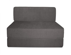 Aart Store Sofa Cum Bed 3x6 Feet One Seater Sleeps & Comfortably Mechanism Type Fold Out Sofa Grey Color Single Sofa Bed