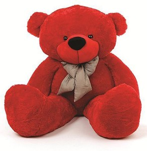 GIFTERIA 3 FEET TEDDY BEAR STUFFED BEAR SUPER CUTE AND BEAUTIFUL/ GIFT FOR SOMEONE SPECIAL/ GIFT FOR GIRLFRIEND/VALENTINES DAY GIFT/ NEW YEAR GIFT/ GIFT FOR BOYFRIEND/ ANNIVERSARY GIFT/ BIRTHDAY GIFT  - 90 cm