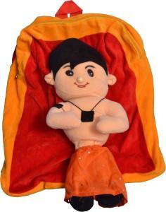 GIFTERIA CARTOON FACE BAG, HIGH QUALITY, PLUSH BAG, SCHOOL BAG  - 36 cm