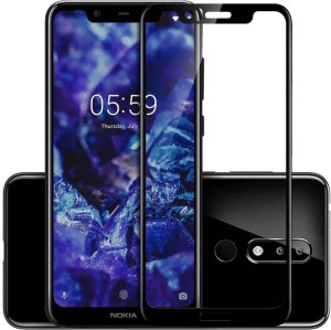 SoftTech Edge To Edge Tempered Glass for Nokia 5.1 Plus