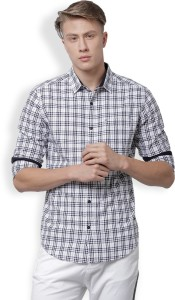 Locomotive Men's Checkered Casual Multicolor Shirt